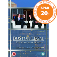 Produktbilde for Boston Legal 1-5 - Complete Box (DVD)