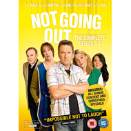 Not Going Out - Sesong 1 - 7 (UK-import) (DVD)