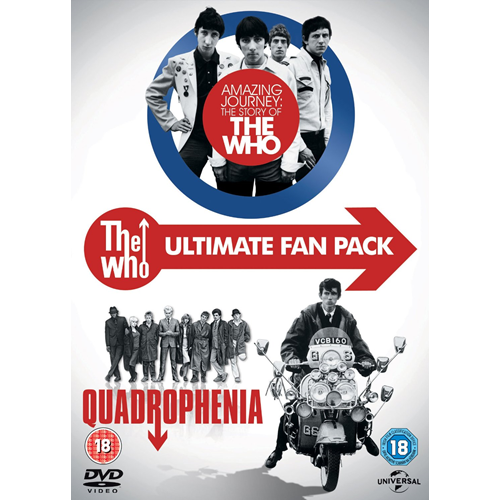 The Who - Ultimate Fanpack: Quadrophenia / Amazing Journey (UK-import) (DVD)