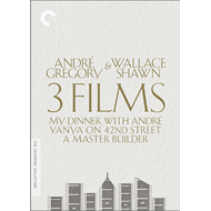 André Gregory & Wallace Shawn: 3 Films - Criterion Collection (DVD - SONE 1)