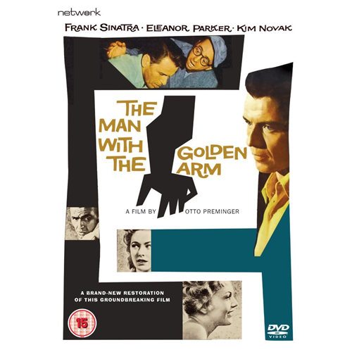 The Man With The Golden Arm (UK-import) (DVD)