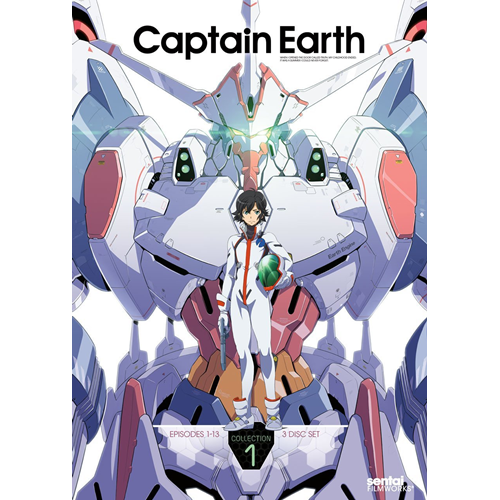 Captain Earth - Collection 1 (DVD - SONE 1)
