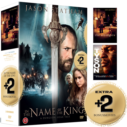 In The Name Of The King / The Strangers / Tyson (DVD)