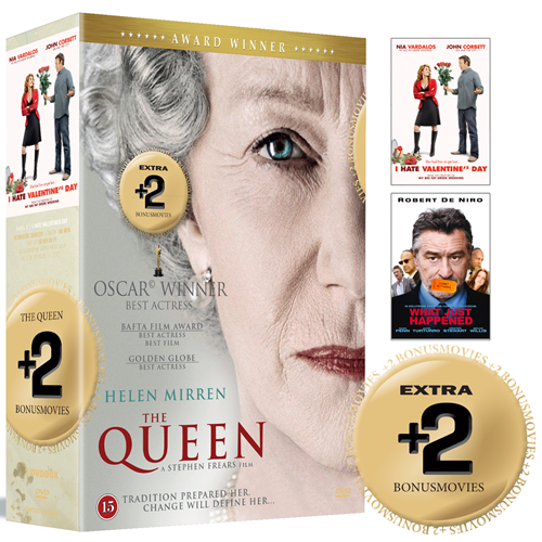 The Queen / What Just Happened / I Hate Valentine's Day (DVD)