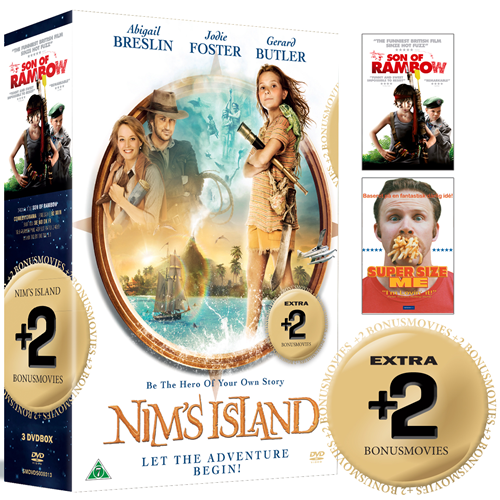 Nim's Island / Son Of Rambow / Super-Size Me (DVD)
