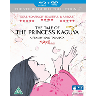 The Tale Of The Princess Kaguya (UK-import) (Blu-ray + DVD)