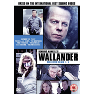 Wallander - Collected Films 1 - 7 (UK-import) (DVD)