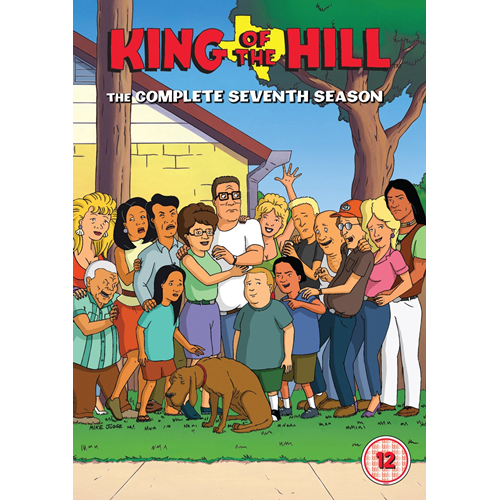 King Of The Hill - Sesong 7 (UK-import) (DVD)