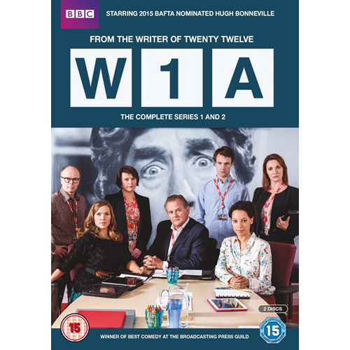 W1A - Sesong 1 & 2 (UK-import) (DVD)