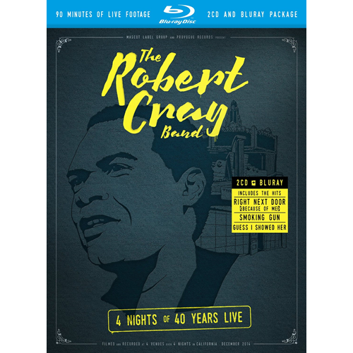 Robert Cray - 4 Nights Of 40 Years Live (Blu-ray + 2CD)