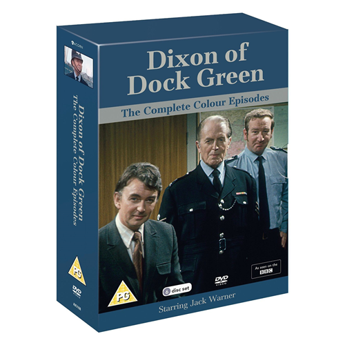 The Dixon Of Dock Green - The Complete Colour Episodes (UK-import) (DVD)