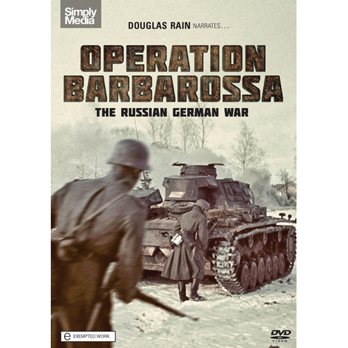 Operation Barbarossa: The Russian German War (UK-import) (DVD)