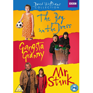 David Walliams Collection: The Boy In The Dress / Gangsta Granny / Mr. Stink (UK-import) (DVD)