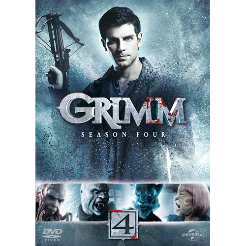 Grimm - Sesong 4 (UK-import) (DVD)