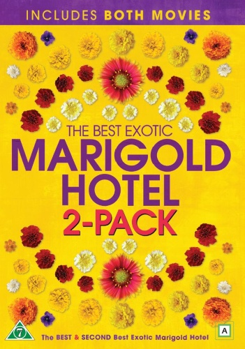 The Best Exotic Marigold Hotel 1 & 2 (DVD)