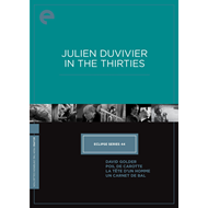 Julien Duvivier In The Thirties - Eclipse Series 44 (DVD - SONE 1)