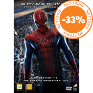 Produktbilde for Spiderman - Five-Movie Collection (DVD)