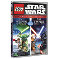 LEGO Star Wars: The Padawan Menace / The Empire Strikes Out (DK-import) (DVD)