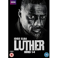 Luther - Sesong 1 - 4 (UK-import) (DVD)