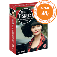 Produktbilde for Miss Fisher Murder Mysteries - Sesong 1 - 3 (UK-import) (DVD)