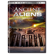 Ancient Aliens - Sesong 8 (DVD - SONE 1)