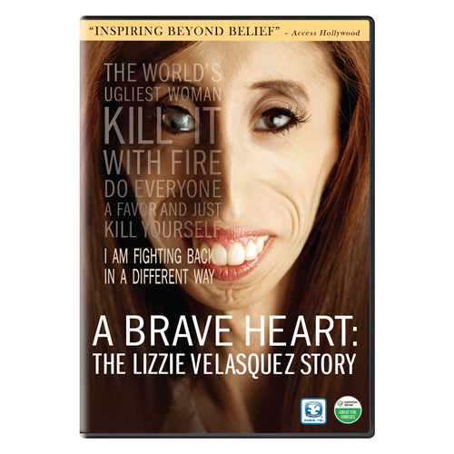 A Brave Heart: The Lizzie Velasquez Story (DVD - SONE 1)