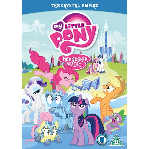 My Little Pony Friendship Is Magic - The Crystal Empire (UK-import) (DVD)