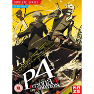 Persona 4 The Animation - Complete Series (UK-import) (DVD)