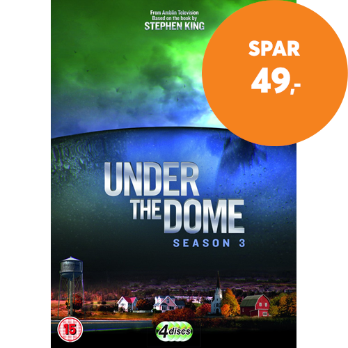 Under The Dome - Sesong 3 (DVD)