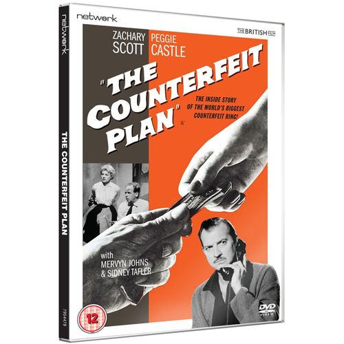 The Counterfeit Plan (UK-import) (DVD)