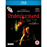 Produktbilde for Underground (UK-import) (Blu-ray + 2DVD)