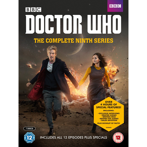 Doctor Who - Sesong 9 (UK-import) (DVD)