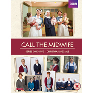 Call The Midwife - Sesong 1 - 5 + Christmas Specials (UK-import) (DVD)