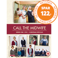 Call The Midwife / Nytt Liv I East End - Sesong 1 - 5 + Christmas Specials (UK-import) (DVD)