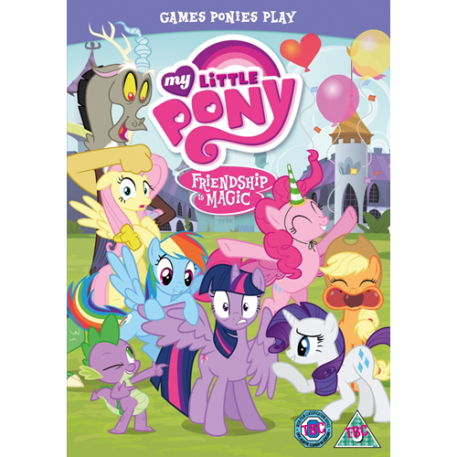 My Little Pony - Friendship Is Magic: Games Ponies Play (UK-import) (DVD)
