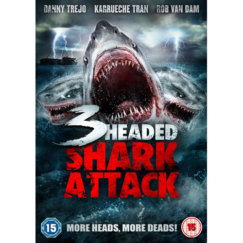 3-Headed Shark Attack (UK-import) (DVD)