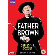 Produktbilde for Father Brown - Sesong 1 - 4 (UK-import) (DVD)