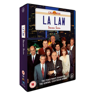 L.A. Law - Sesong 7 (UK-import) (DVD)