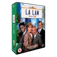 L.A. Law - Sesong 8 (UK-import) (DVD)