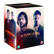 Supernatural - Sesong 1 - 10 (UK-import) (DVD)