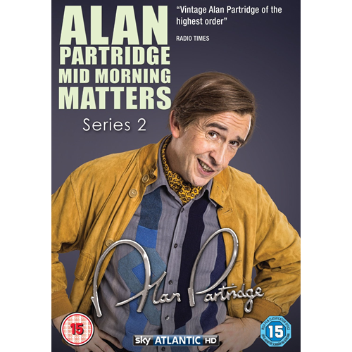 Alan Partridge - Mid Morning Matters - Sesong 2 (UK-import) (DVD)