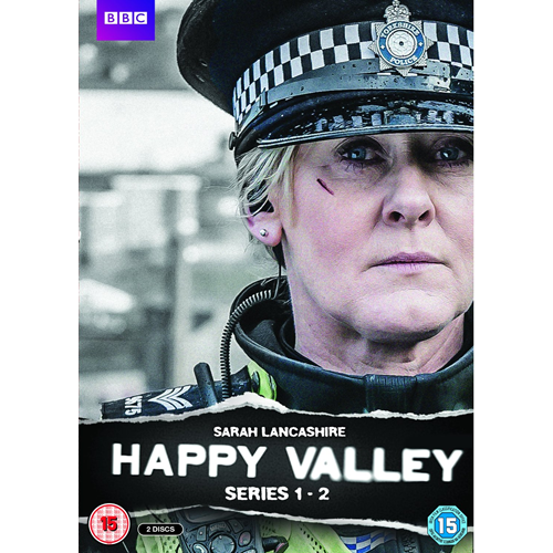 Happy Valley - Sesong 1 & 2 (UK-import) (DVD)