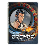 Produktbilde for Archer - Sesong 6 (DVD - SONE 1)