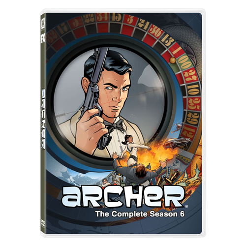 Archer - Sesong 6 (DVD - SONE 1)