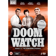 Doomwatch - Sesong 1 - 3 (UK-import) (DVD)