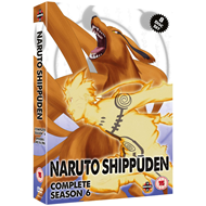Produktbilde for Naruto Shippuden - The Complete Series 6 (UK-import) (DVD)