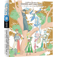 Sword Art Online II: Part 3/4 - Arc 2: Calibur / Arc 3: Mother's Rosario (UK-import) (Blu-ray + DVD)