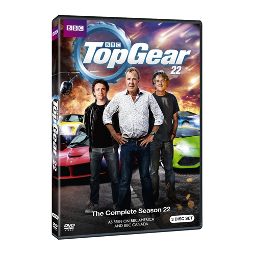 Top Gear - Sesong 22 (DVD - SONE 1)