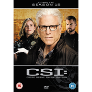 CSI: Crime Scene Investigation - Sesong 15 (UK-import) (DVD)