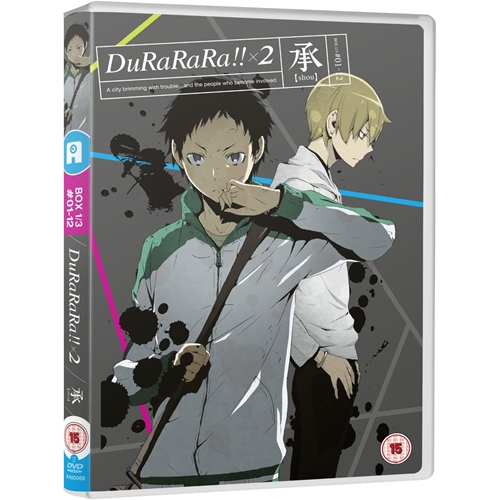 DuRaRaRa!!x2 - Box 1/3 (UK-import) (DVD)